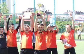 The NNOC team became the winner of the football tournament