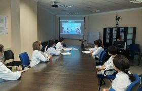 Online meeting with representatives of the Lapino Cancer Center (Moscow, Russia)