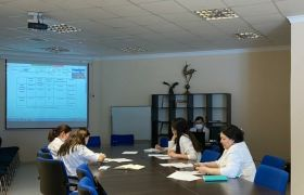 Online meeting with the Essen University Hospital (Germany)