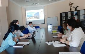 Meeting on the organization of cooperation between the oncological clinics of Kazakhstan and Korea