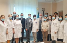 A visit of the representative office of the Curie Institute (France) to the NROC